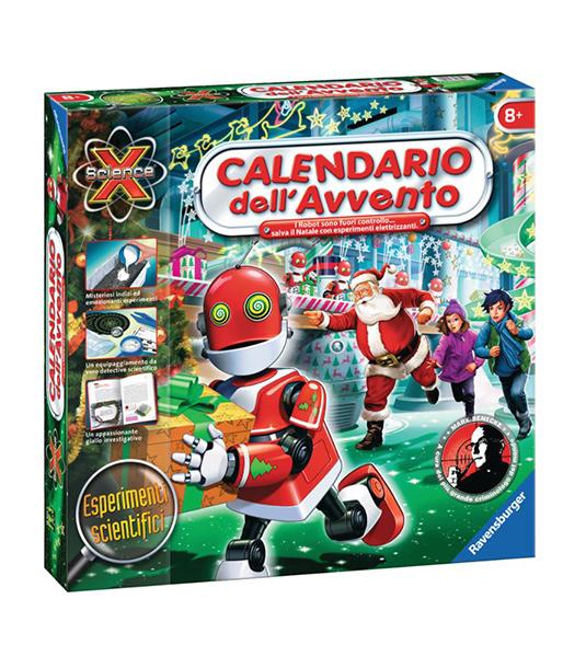 Calendario Avvento Ravensburger.Calendario Avvento Robot Fuori Catalogo
