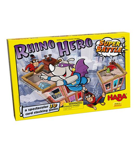 HABA – RHINO HERO SUPER BATTLE