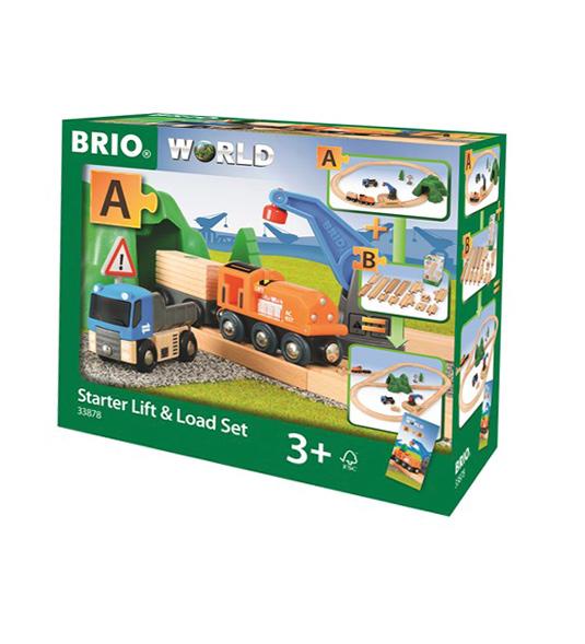 BRIO WORLD – STARTER SET CARICA E TRASPORTA
