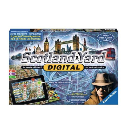 GAMES – SCOTLAND YARD DIGITAL – Fuori catalogo