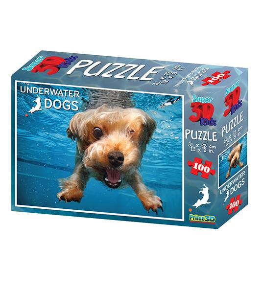 100pz. – 3D UNDERWATER DOG BRADY – Fuori catalogo