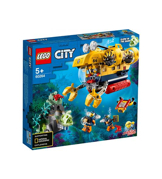 CITY – SOTTOMARINO DA ESPLORAZIONE OCEANICA