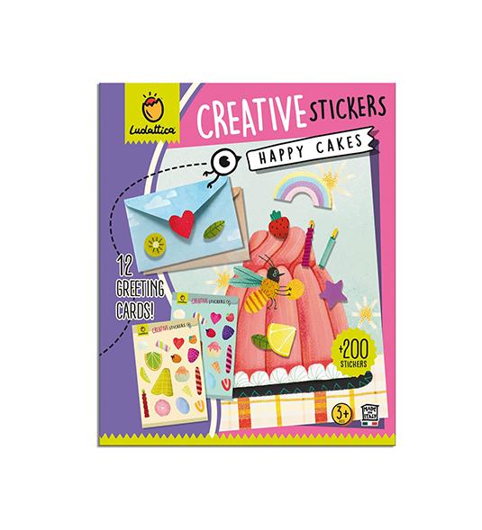 CREATIVE STICKERS – HAPPY CAKES