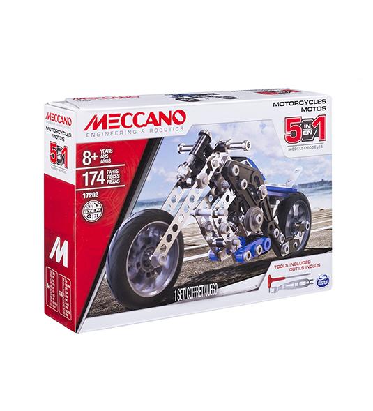 MECCANO – MULTI MODELLO DA 5 – MOTOCICLETTA