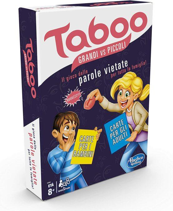 TABOO – GRANDI VS. PICCOLI
