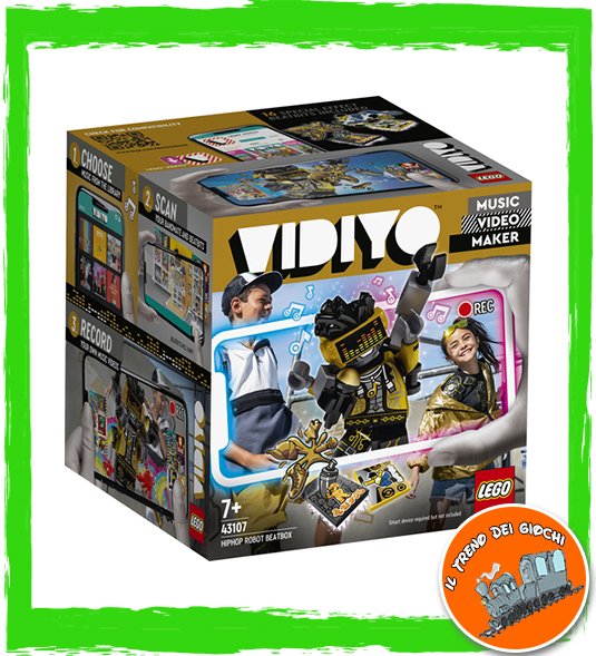 VIDIYO – HIPHOP ROBOT BEATBOX