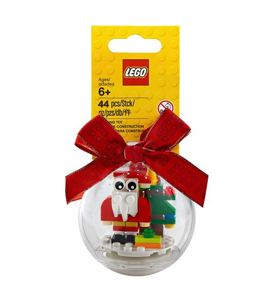 PALLINA NATALE LEGO – BABBO NATALE E ALBERO