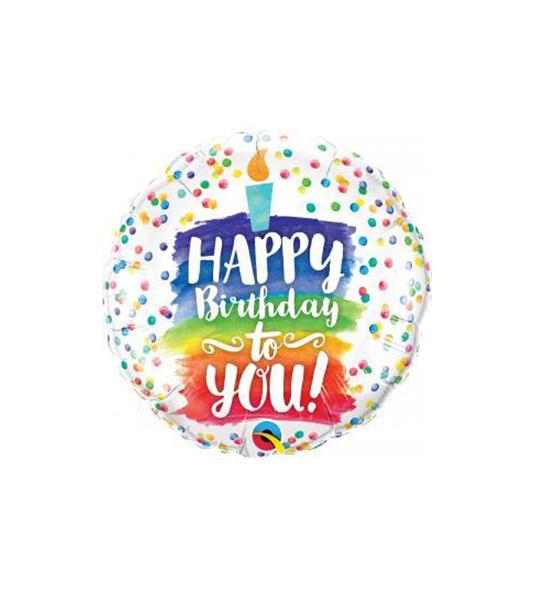 PALLONCINI 18″ – HAPPY BIRTHDAY TO YOU