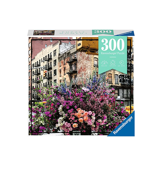 300pz. MOMENTS – FLOWERS IN NEW YORK
