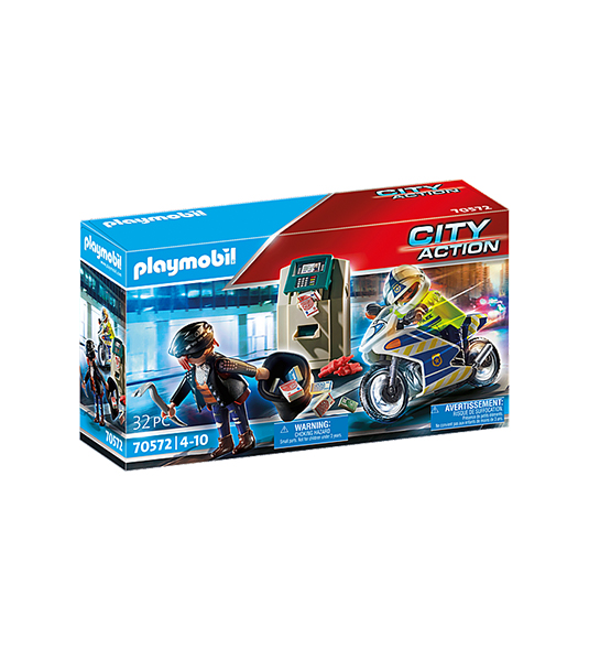 CITY ACTION – POLIZIOTTO IN MOTO E LADRO