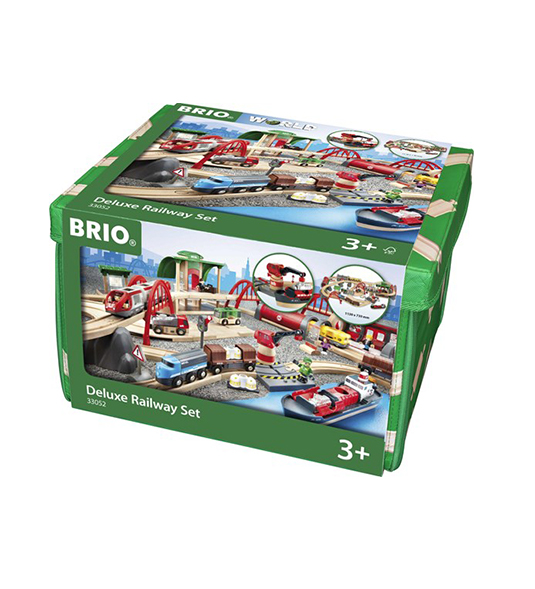 BRIO WORLD – SET FERROVIA DELUXE