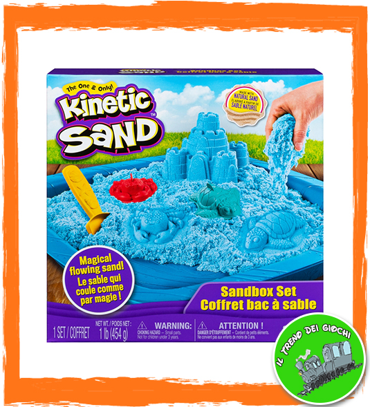 KINETIC SAND: CASTELLI DI SABBIA – COLORI ASSORTITI